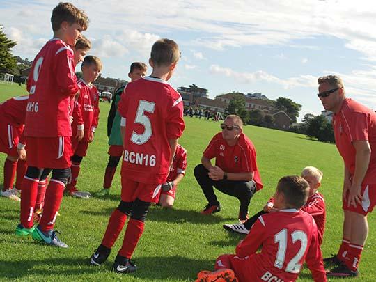 Under 10s football team