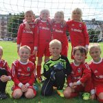 Under 8s team Hythe Town Youth